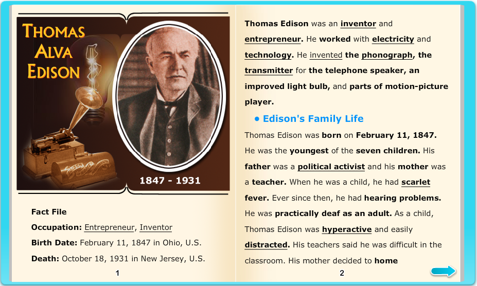 the interesting life of thomas alva edison and his many great inventions The edison awards are inspired by thomas a edison who represents the standard for measuring technological prowess and edison: his life and inventions.
